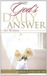 God's Daily Answer: Women - Thomas Nelson Publishers