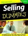 Selling for Dummies - Tom Hopkins