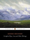 Complete Plays, Lenz, and Other Writings - Georg Büchner, John Reddick, Georg Büchner