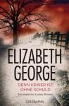 Denn keiner ist ohne Schuld - Elizabeth George, Mechtild Sandberg-Ciletti