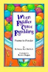 When Riddles Come Rumbling: Poems to Ponder - Rebecca Kai Dotlich