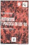 Historieta y política en los '80: la Argentina ilustrada - Pablo De Santis