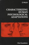 Characterizing Human Psychological Adaptations - Gregory Bock, Gail Cardew