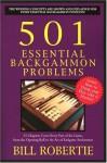 501 Essential Backgammon Problems - Bill Robertie