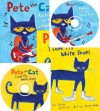 Pete the Cat I Love My White Shoes with Cd/ Pete the Cat Rocking in My School Shoes with Cd - Eric Litwin