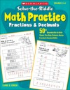Solve-the-Riddle Math Practice: Fractions & Decimals: 50+ Reproducible Activity Sheets That Help Students Master Fraction & Decimal Skills - Liane Onish