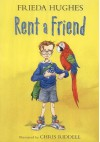 Rent a Friend Colour Storybook - Frieda Hughes, Chris Riddell
