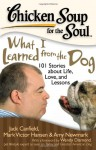 Chicken Soup for the Soul: What I Learned from the Dog: 101 Stories about Life, Love, and Lessons - Jack Canfield, Mark Victor Hansen, Amy Newmark, Barbara LoMonaco, Wendy Diamond