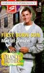 First Born Son - Muriel Jensen, Muriel Jenson