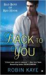 Back to You - Robin Kaye