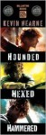Iron Druid Chronicles Starter Pack 3-Book Bundle, The: Hounded, Hexed, Hammered - Kevin Hearne