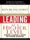 Leading at a Higher Level: Blanchard on Leadership and Creating High Performing Organizations - Kenneth H. Blanchard