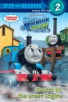 Secret of the Green Engine (Thomas & Friends) (Step into Reading) - Wilbert Awdry, Richard Courtney