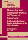Geometry and Nonlinear Partial Differential Equations: Dedicated to Professor Buqing Su in Honor of His 100th Birthday: Proceedings of the Conference - Seth Garfield, Shing-Tung Yau