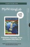 Progressions Student Access Code: Paragraphs, Essays, and Essential Study Skills - Barbara Fine Clouse