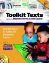 Toolkit Texts: Grades PreK-1: Short Nonfiction for Guided and Independent Practice - Stephanie Harvey, Heather Anderson