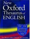 The New Oxford Thesaurus Of English - Patrick Hanks