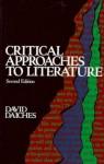 Critical Approaches to Literature - David Daiches