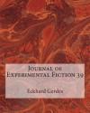 Journal of Experimental Fiction 39 - Eckhard Gerdes