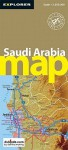 Saudi Arabia Map - Explorer Publishing, Explorer Publishing