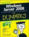 Windows Server® 2008 All-In-One Desk Reference For Dummies® - John Paul Mueller