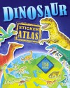 Dinosaur Sticker Atlas - David Burnie, Anthony Lewis