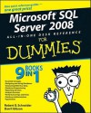 Microsoft SQL Server 2008 All-In-One Desk Reference for Dummies - Robert D. Schneider, Darril Gibson