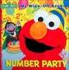Sesame Street Number Party: My Wipe-Off Shape Book - Publications International Ltd.