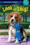 Absolutely Lucy #3: Look at Lucy! (A Stepping Stone Book(TM)) - Ilene Cooper, David Merrell