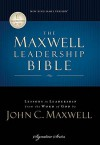 Maxwell Leadership Bible, NKJV: Briefcase Edition - Thomas Nelson Publishers