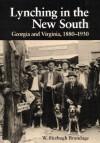 Lynching in the New South: Georgia and Virginia, 1880-1930 - W. Fitzhugh Brundage