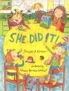 She Did It! - Jennifer A. Ericsson, Nadine Bernard Westcott