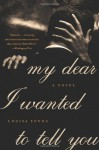 My Dear I Wanted to Tell You - Louisa Young