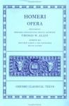 Odyssey, Books 1-12 (Homeri Opera, Vol. 3) - Homer, T.W. Allen, D.B. Monroe