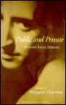 Public And Private: Feminist Legal Debates - Margaret Thornton