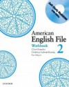 American English File 2 Workbook: with Multi-ROM - Clive Oxenden, Paul Seligson, Christina Latham-Koenig