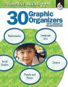 30 Graphic Organizers for the Content Areas, Grades K-3 [With Transparencies] - Christi E. Parker
