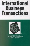 International Business Transactions In A Nutshell - Ralph H. Folsom, Michael Wallace Gordon, John A. Spanogle Jr.