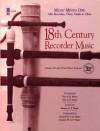 Eighteenth Century Recorder Music (2 CD Set) - Hal Leonard Publishing Company