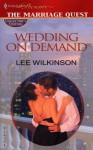 Wedding On Demand (Promotional Presents) - Lee Wilkinson