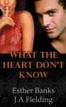 What The Heart Don't Know (Interracial BWWM Romance) - J.A. Fielding