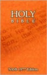 Holy Bible (NASB - New American Standard Bible) - Anonymous