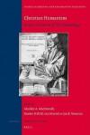 Christian Humanism - Alasdair A. Macdonald, J. Veenstra, Z.R.W.M. Von Martels