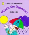 What's the Opposite?: A Lift-the-Flap Book - Eric Hill