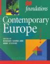 Contemporary Europe - Richard Sakwa, Anne Stevens