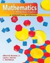 Combo: Mathematics For Elementary Teachers: A Conceptual Approach With Mathematics For Elementary Teachers: An Activity Approach With Manipulative Kit - Albert Bennett, Laurie Burton, Ted Nelson, Bennett Albert