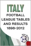 Italy - Football League Tables & Results 1898-2012 - Alex Graham