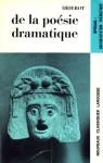 de la poesie dramatique - Denis Diderot