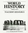 World History Teachers Resource Binder Vol One and Two 1989c - Fearon