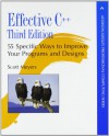 Effective C++: 55 Specific Ways to Improve Your Programs and Designs (Addison-Wesley Professional Computing Series) - Scott Meyers